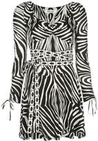 Diane von Furstenberg Hollis Swarovski-embellished mini dress