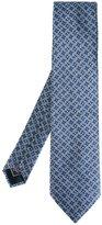 Brioni chained pattern tie