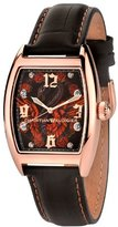 Christian Audigier Unisex INT-310 Intensity Bird Cage, Rose Ion-Plating Rose Gold Watch