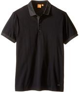 BOSS ORANGE Pinto Herringbone Short Sleeved T-Shirt