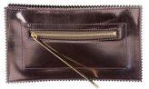 Tamara Mellon Boxcalf Leather Clutch