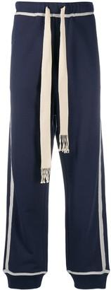 Loewe Anagram straight-leg track pants