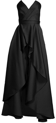 Jay Godfrey Abrahams Attachable-Skirt Jumpsuit