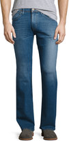 Hudson Clifton Boot-Cut Denim Pants, Blue
