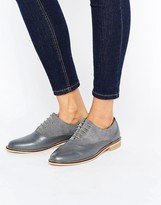Asos MAKE IT UP Leather Brogues