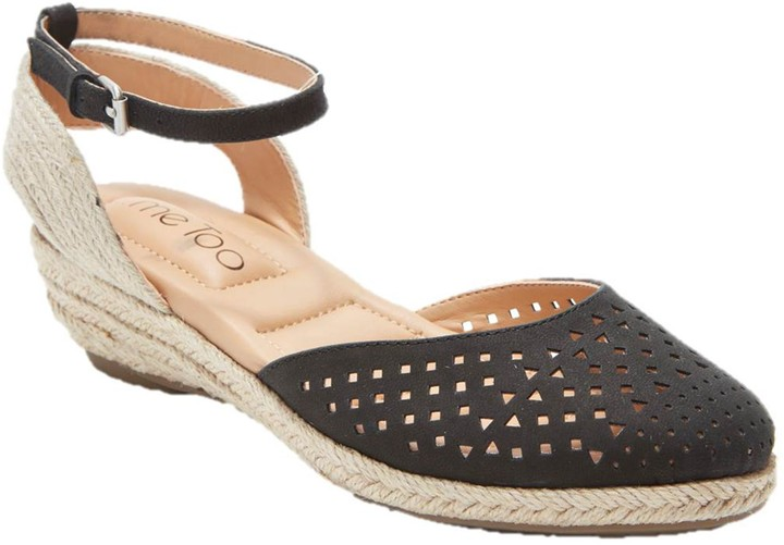Me Too Metallic Wedge Sandals - Norina
