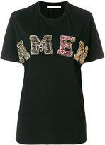 Amen sequin logo T-shirt