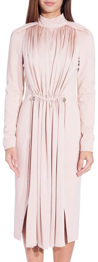 Carven Long Sleeve Dress Blush