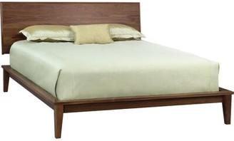 Copeland Furniture SoHo Platform Bed Size: King, Color: Natural Walnut