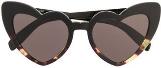 Saint Laurent Eyewear Lou Lou heart-shaped sunglasses
