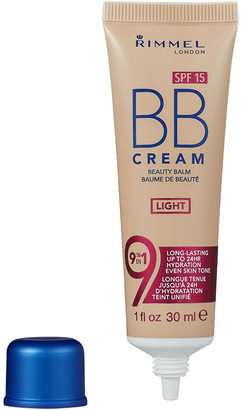 Rimmel Bb Cream 9-In-1 Skin Perfecting Super Makeup Spf15 30Ml Light (Light, Neutral)