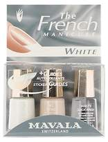 Mavala French Manicure White Set