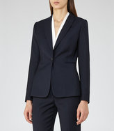 Reiss Indi Jacket Textured Single-Breasted Blazer
