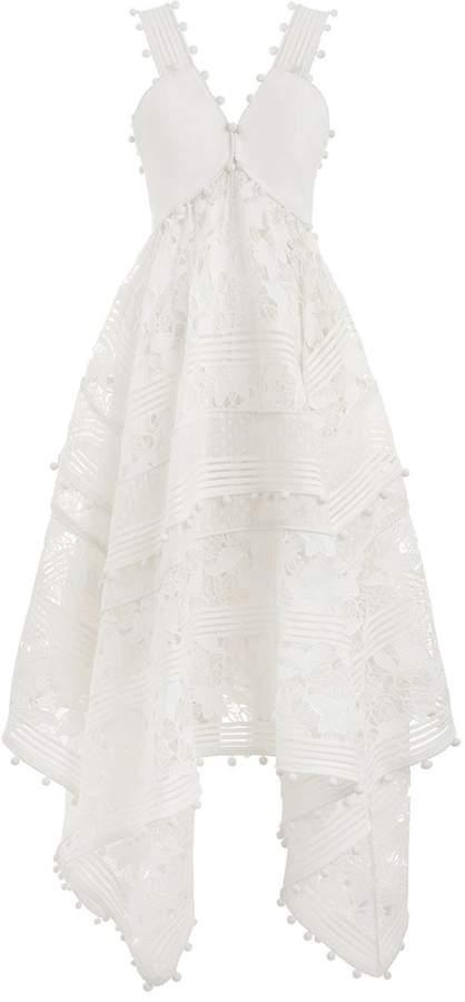Zimmermann Corsage Embellished Dress