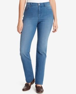 Gloria Vanderbilt Amanda Straight-Leg Jeans in Petite & Petite Short