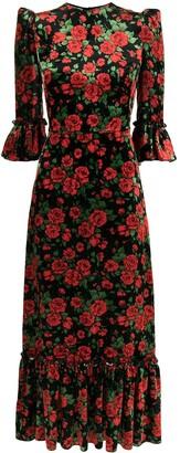 The Vampire's Wife The Festival roses print dress