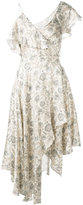Zimmermann paisley asymmetric dress - women - Silk - 0