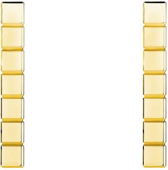 Chopard Yellow Gold Ice Cube Pure Earrings