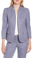 Anne Klein Heather Twill Suit Jacket