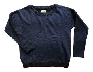 Bellerose Blue Cotton Knitwear