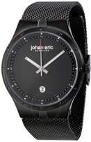Johan Eric Skive Black IP Steel Date Watch