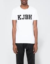 Han Kjobenhavn Block Tee White Logo