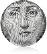 """Fornasetti Pixel Face"""" Porcelain Plate"""