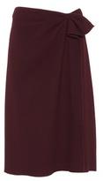 Bottega Veneta Wool-crêpe skirt
