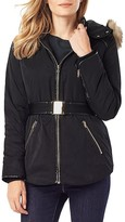 Phase Eight Alanis Faux Fur-Trim Puffer Jacket