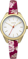 Oasis Floral Strap Watch