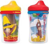 NUK Gerber Graduates Curious George Insulated Hard Spout Sippy Cup, 9 Oz, 2 Pack