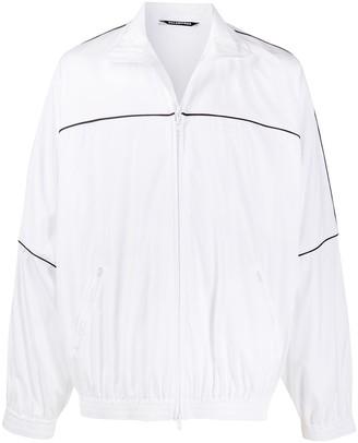 Balenciaga Piped-Trim Track Jacket