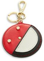 Calvin Klein Leather Happy Face Keychain