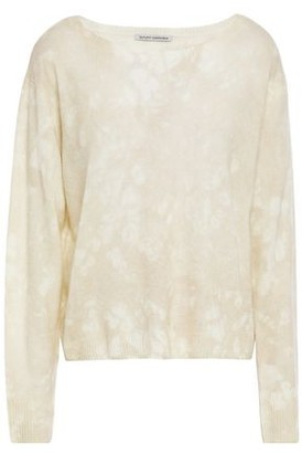 Autumn Cashmere Cotton By Tie-dyed Cashmere Sweater