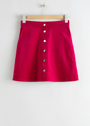 And other stories Corduroy Mini Skirt