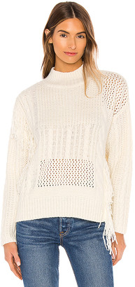 Line & Dot Thea Distressed Sweater