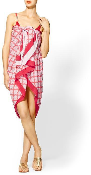 Juicy Couture Roberta Roller Rabbit Pareo Sarong