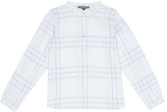 Bonpoint Artiste checked cotton shirt