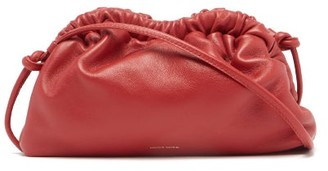 Mansur Gavriel Cloud Mini Leather Cross-body Bag - Red