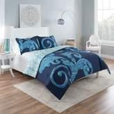 Vue Zendaya Reversible King Comforter Set in Blue