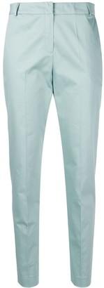 D-Exterior D.Exterior blue slim fit trousers