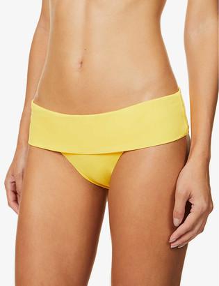 Melissa Odabash Provence striped high-rise bikini bottoms