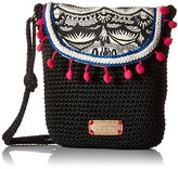 Sakroots Artist Circle Crochet Flap Cross Body