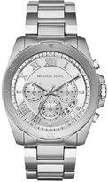 Michael Kors Men's Chronograph Brecken Stainless Steel Bracelet Watch 44mm MK8562