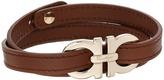 Salvatore Ferragamo Double Wrap with Gancini Bracelet - 545054 Bracelet