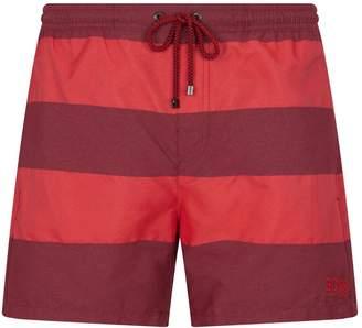 BOSS Chunky Stripes Swim Shorts