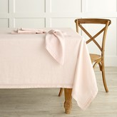 Williams-Sonoma Linen Double Hemstitch Tablecloth