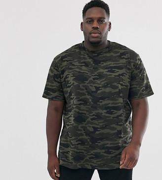 Duke King Size t-shirt in camo