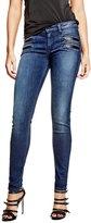 GUESS Women's Biker Skinny Jeans