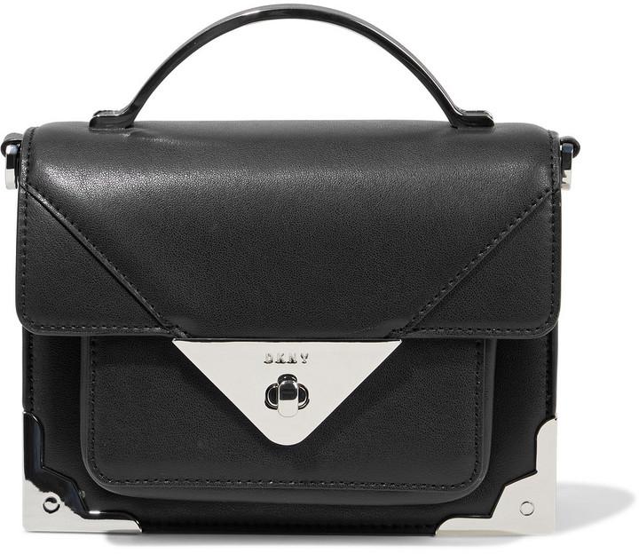 DKNY Jaxone Small Leather Shoulder Bag